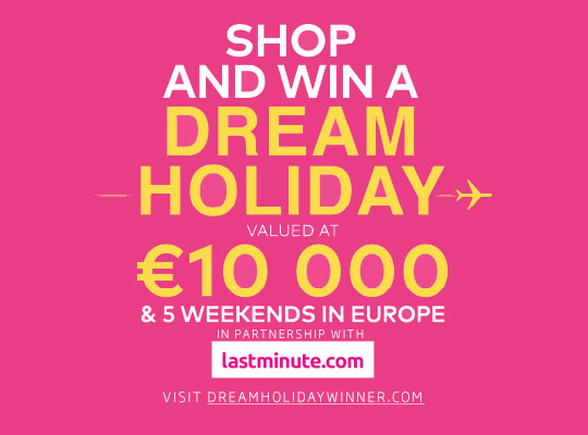 WIN A DREAM HOLIDAY